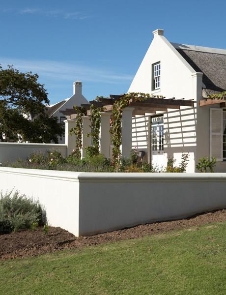 Simon mccullagh architects cape dutch house refurbishments for Cape dutch house plans